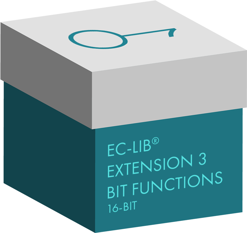 EC-LIB® Fixed Point Library Extension 3 Bit Functions